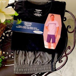 NEW Denver Hayes Jersey T-Shirt and Short Set